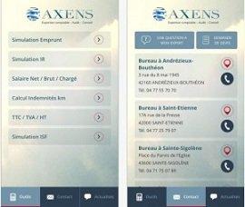 application AXENS