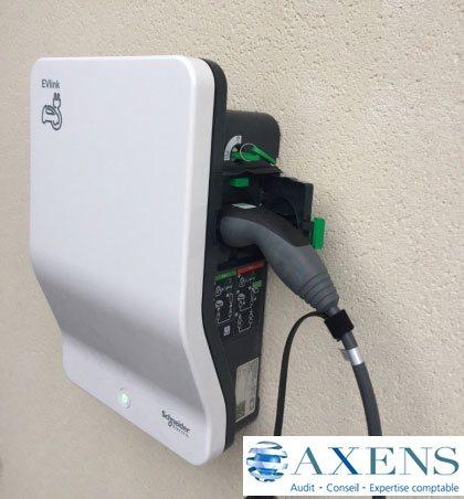 borne rechargement électrique andrézieux