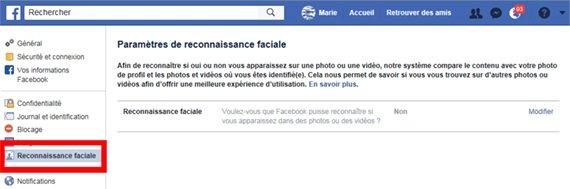 protéger ses paramètres facebook