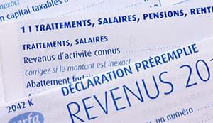 impôt sur les revenus 2019